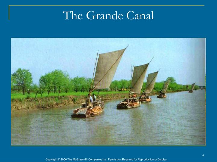 The Grande Canal