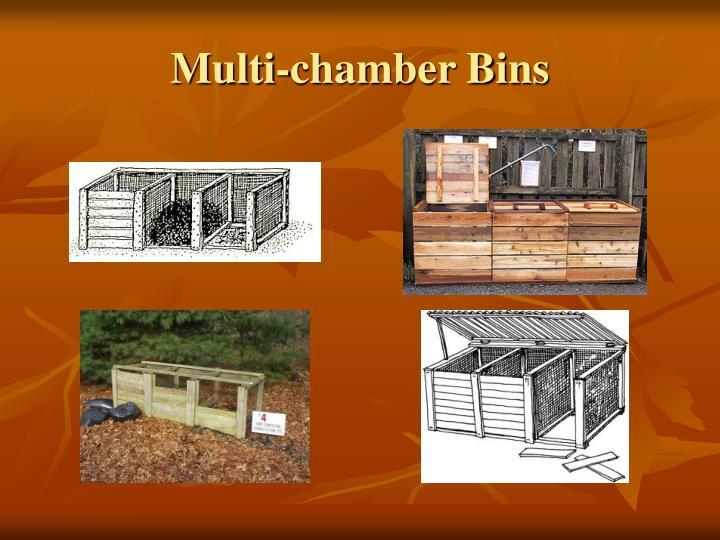 Multi-chamber Bins