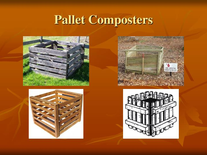 Pallet Composters
