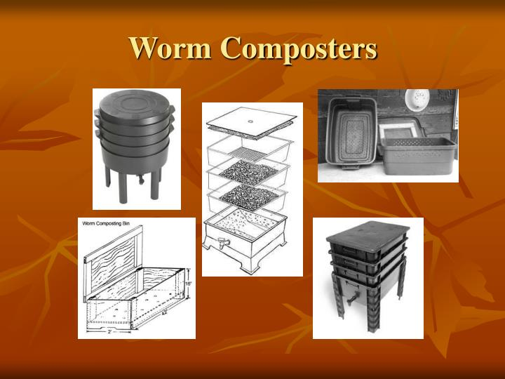 Worm Composters