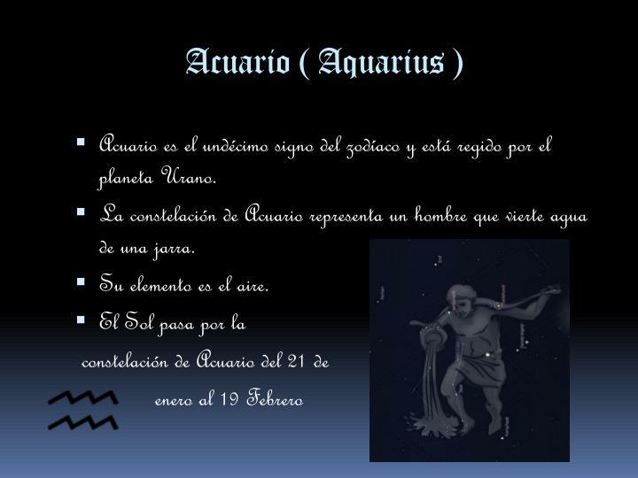 Acuario (