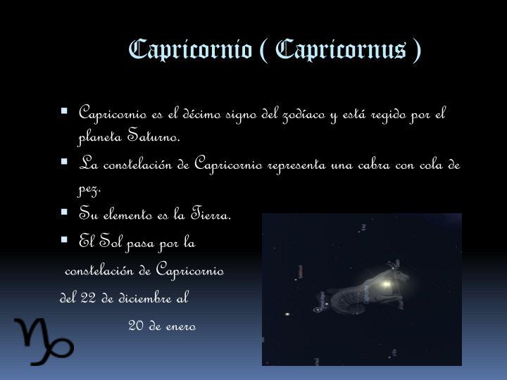 Capricornio (