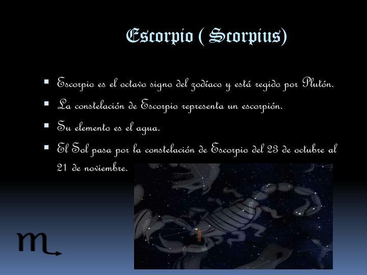 Escorpio (