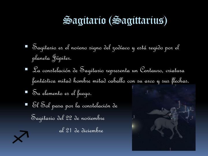 Sagitario (