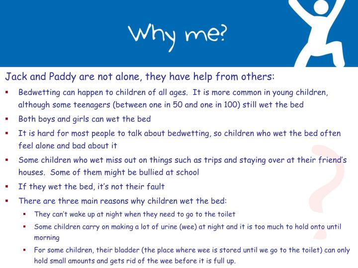 Jack and Paddy are not alone, they have help from others: