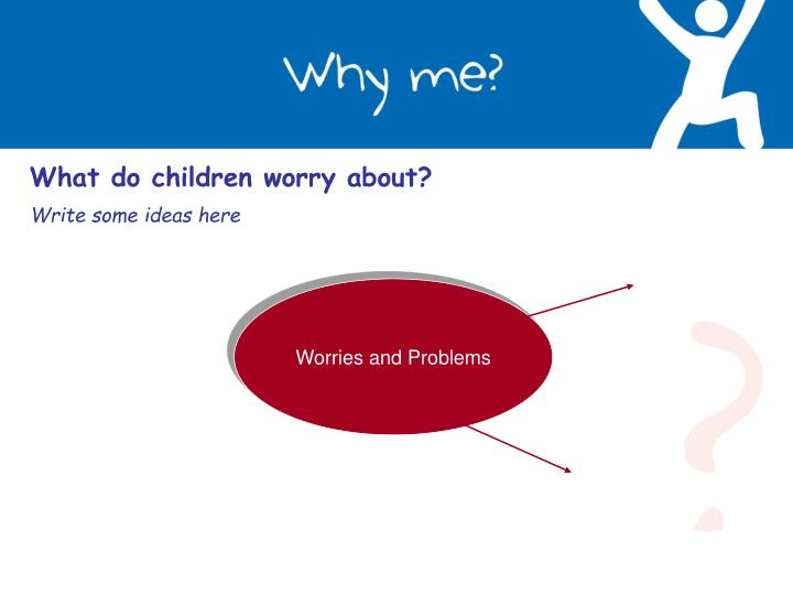 What do children worry about?