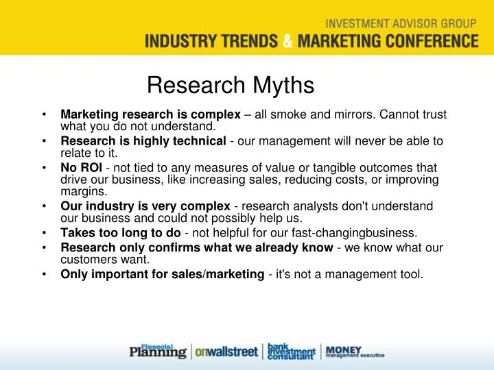 Research Myths