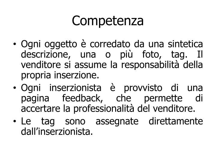 Competenza