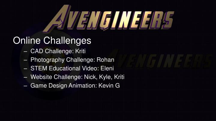 Online Challenges