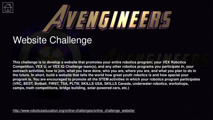 Website Challenge