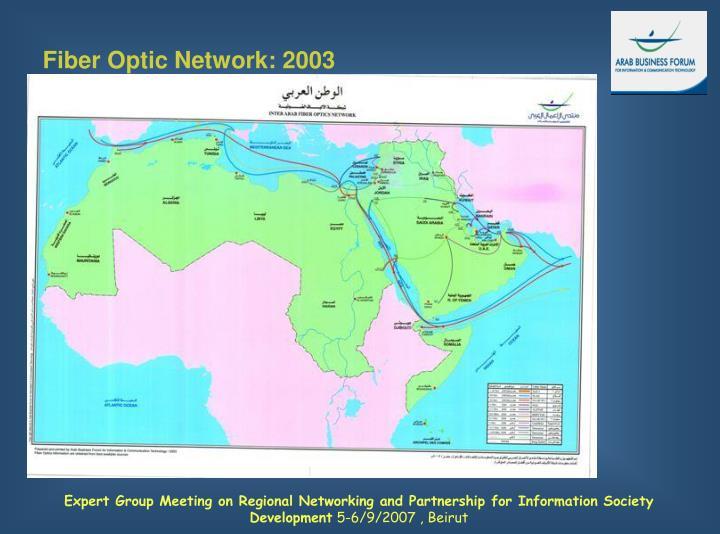 Fiber Optic Network: 2003