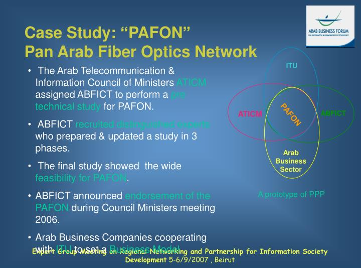 "Case Study: ""PAFON"""