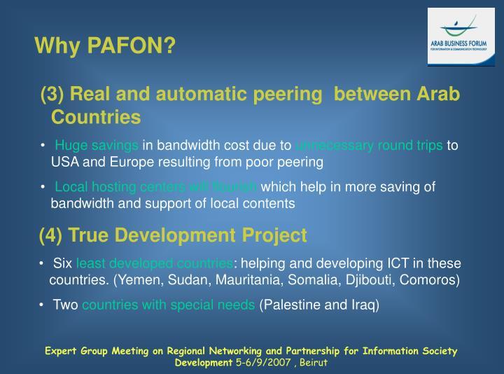 Why PAFON?