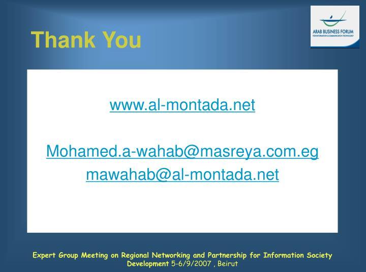 www.al-montada.net