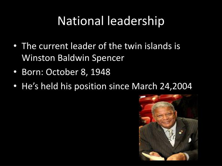 National leadership