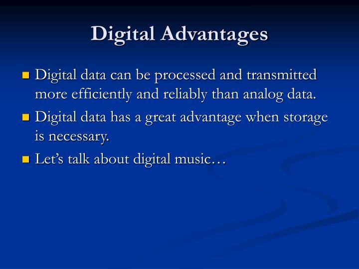 Digital Advantages
