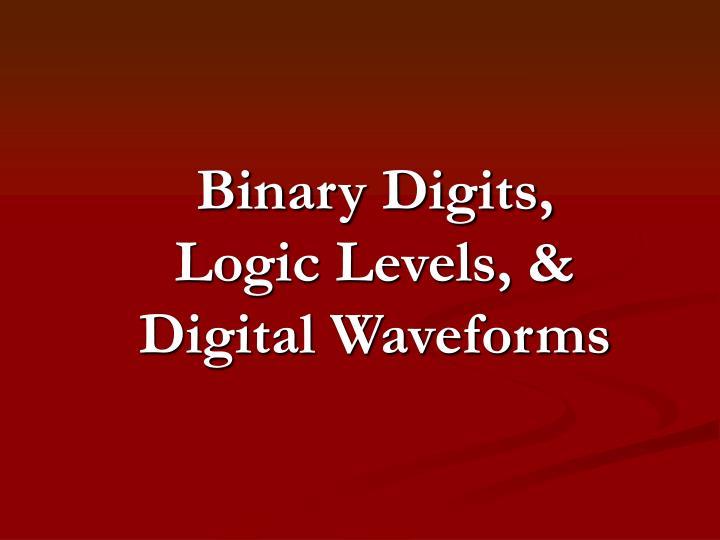 Binary Digits,