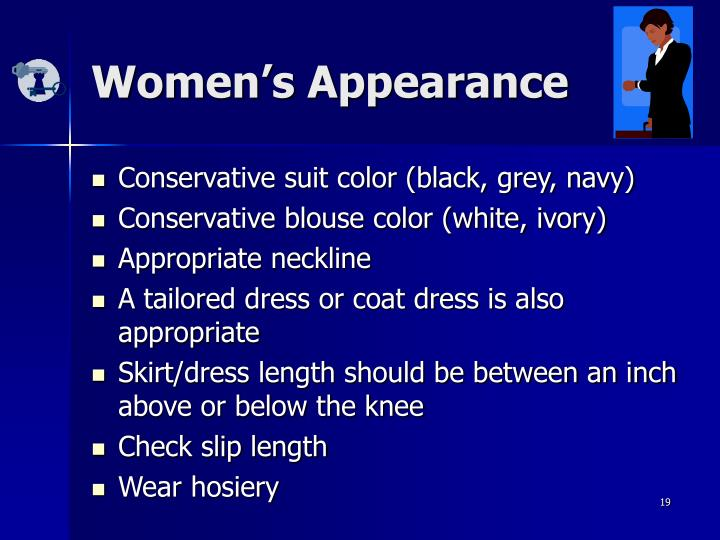Women's Appearance