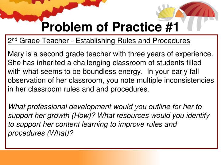 Problem of Practice #1