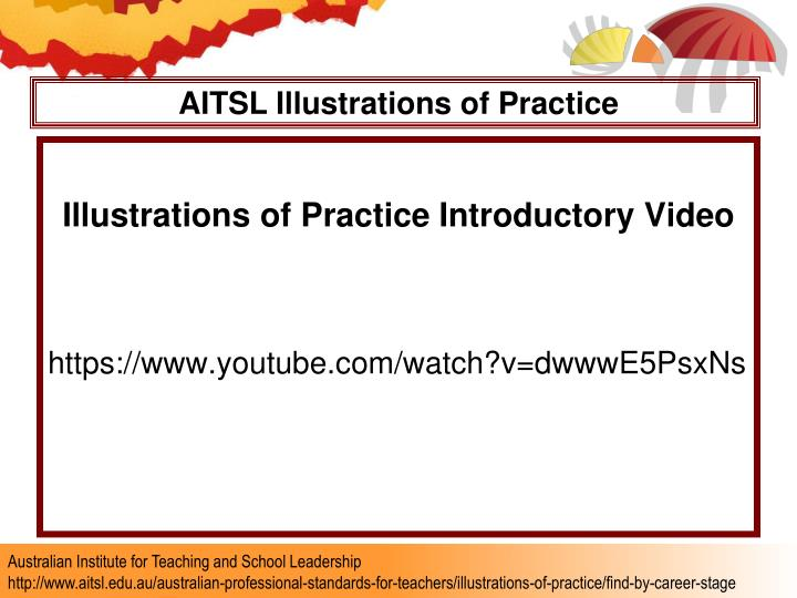 AITSL Illustrations of Practice