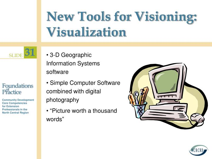 New Tools for Visioning: Visualization