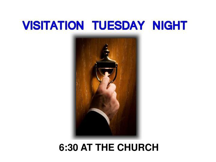 6:30 AT THE CHURCH