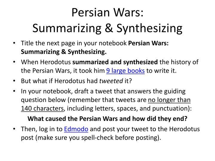 Persian Wars: