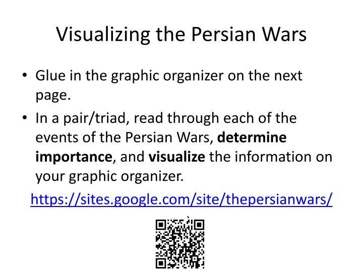 Visualizing the Persian Wars