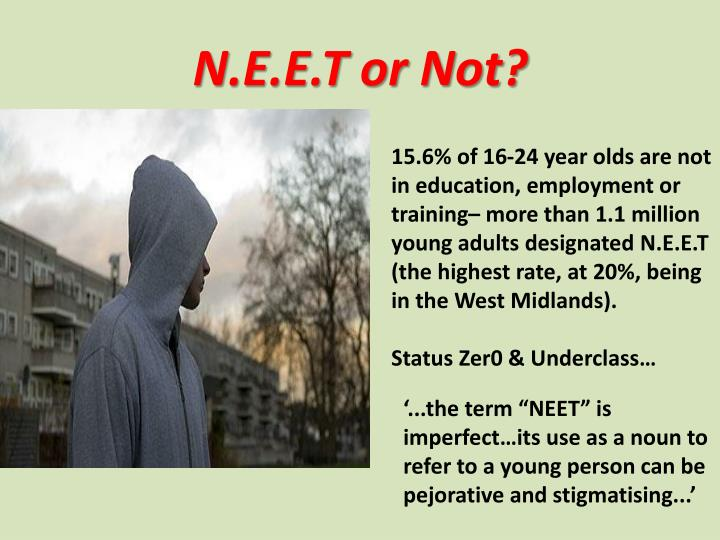 N.E.E.T or Not?