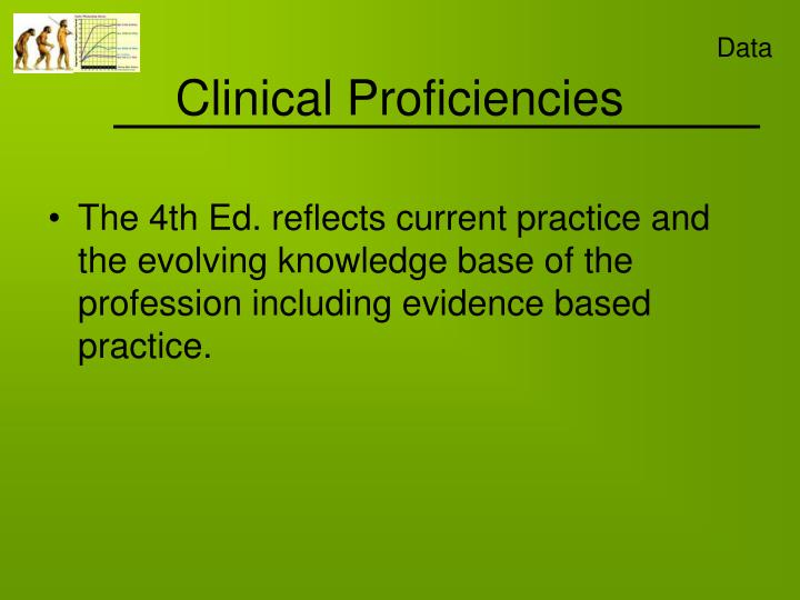 Clinical Proficiencies