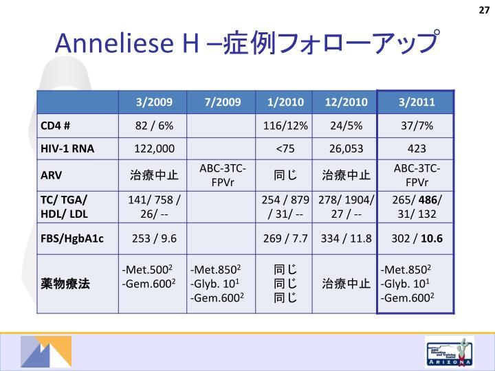 Anneliese H –
