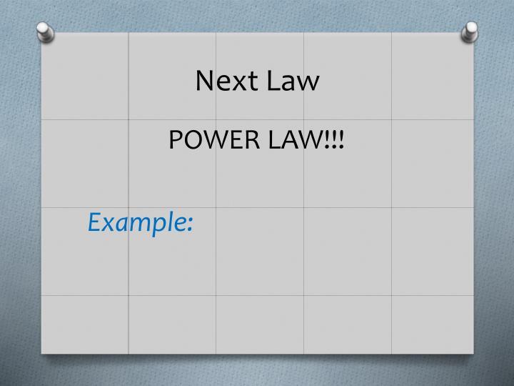 Next Law