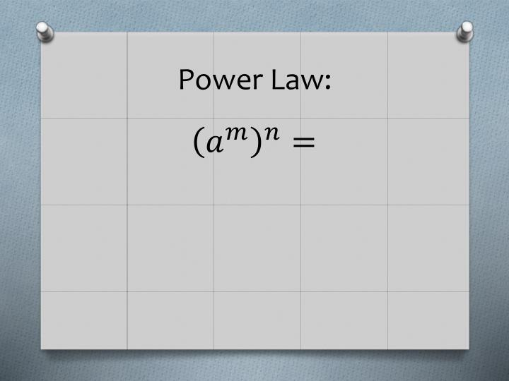 Power Law: