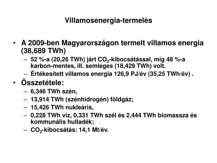 Villamosenergia-termelés