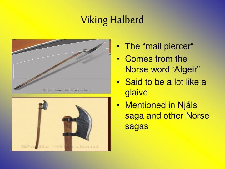 Viking Halberd
