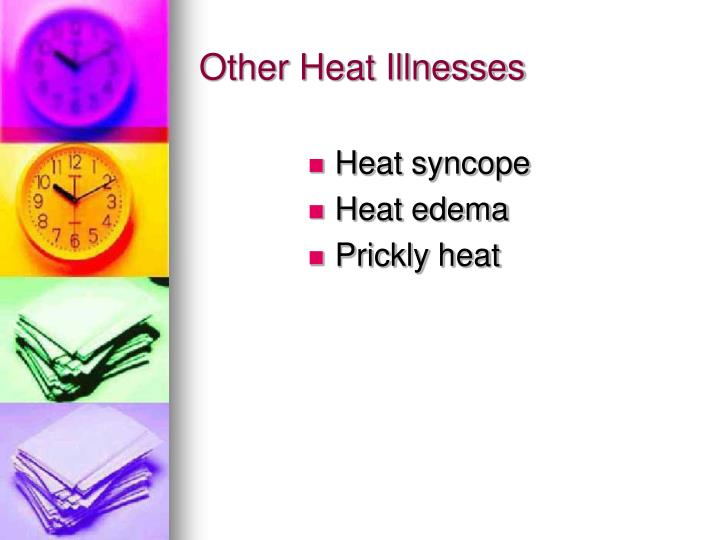 Other Heat Illnesses
