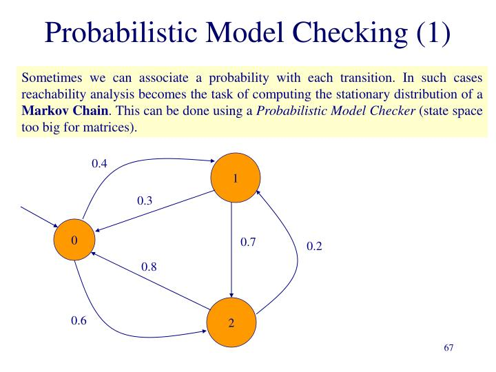 Probabilistic Model Checking (1)