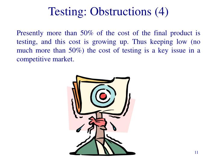 Testing: Obstructions (4)