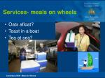services meals on wheels