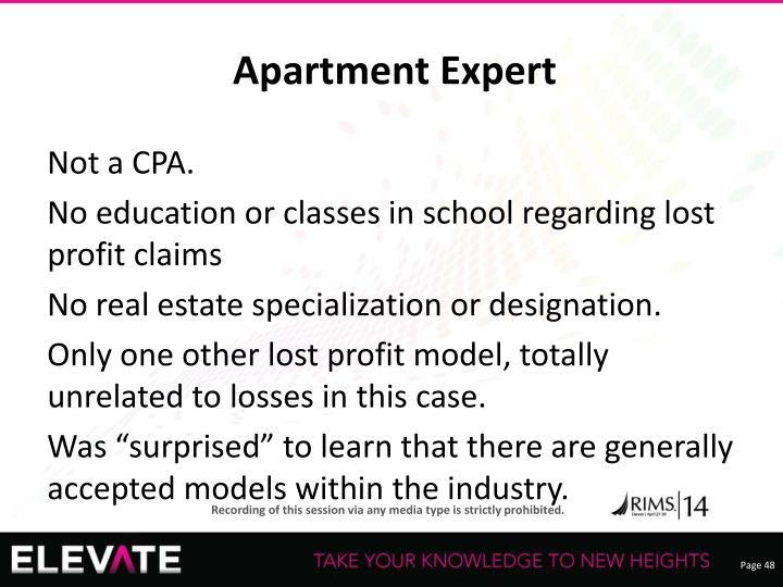 Apartment Expert