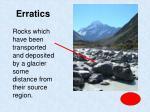 erratics