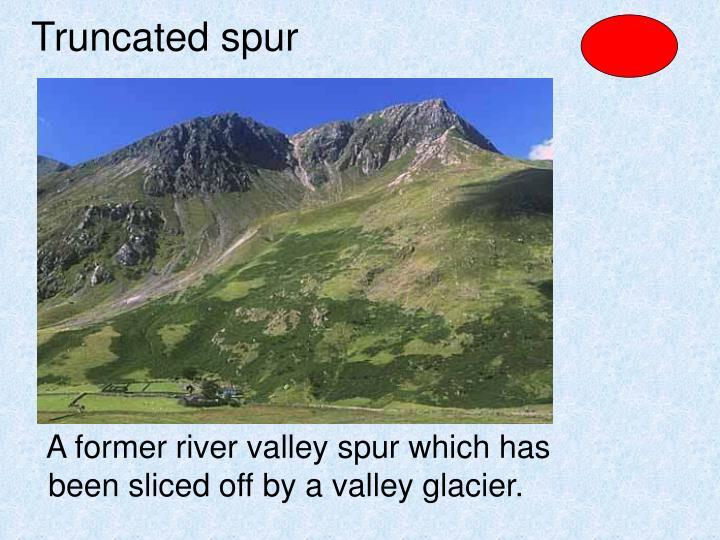 Truncated spur