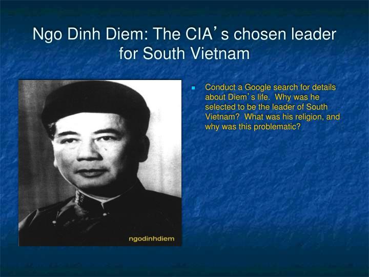 Ngo Dinh Diem: The CIA