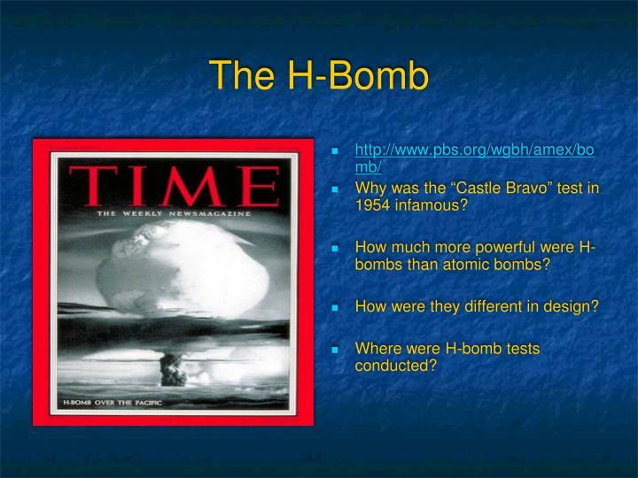 The H-Bomb