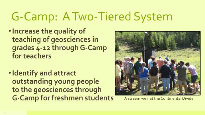 G-Camp:  A