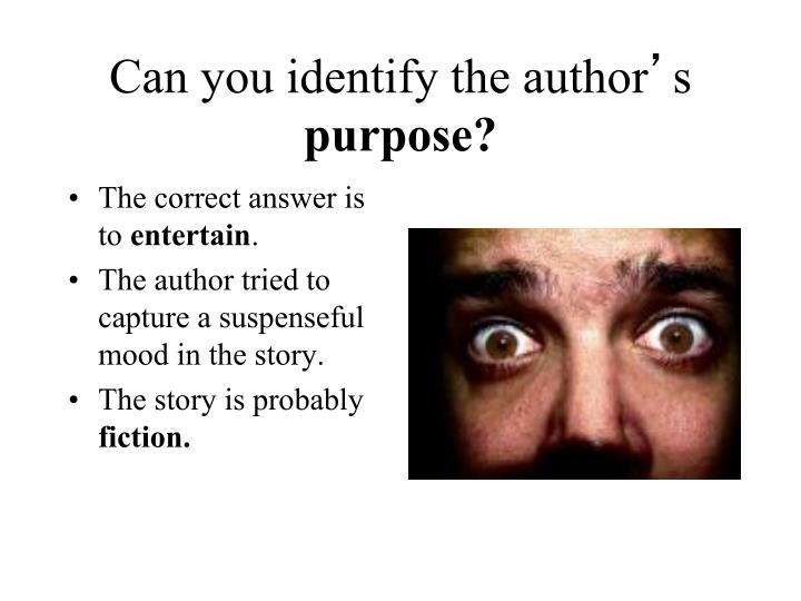Can you identify the author