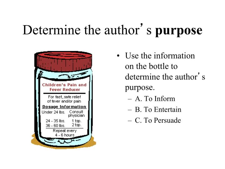 Determine the author
