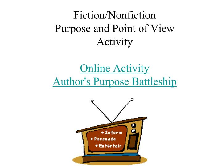 Fiction/Nonfiction