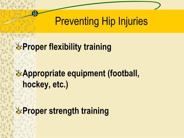 Preventing Hip Injuries