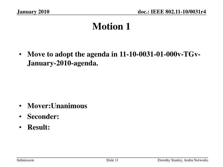 Motion 1